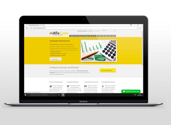 Afixcode Lança Novo Site - Índice