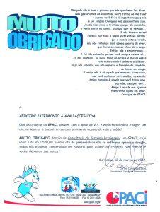Afixcode Doa Licença GPACI Certificado