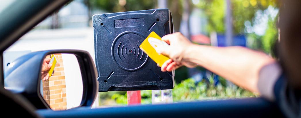 Exemplo de RFID no Dia a Dia: Cartão de carro