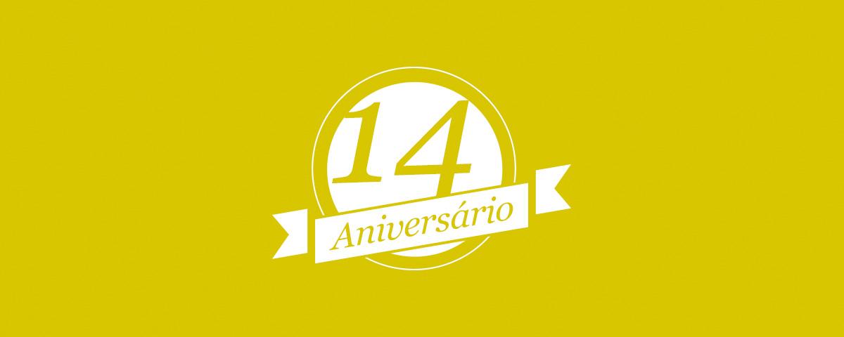 Aniversário 14 anos Afixcode