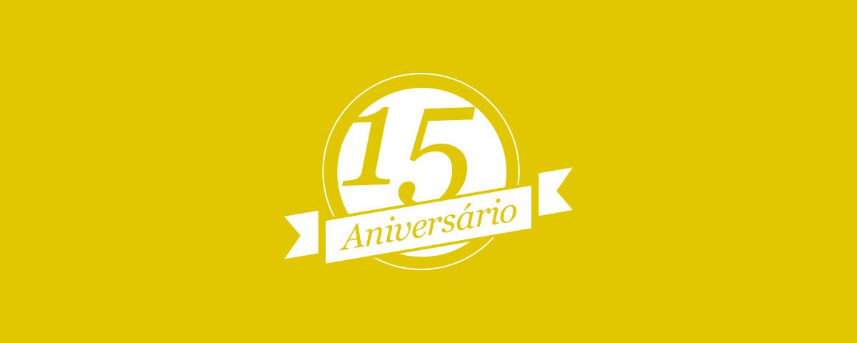 Aniversário 15 Anos Afixcode - Destaque