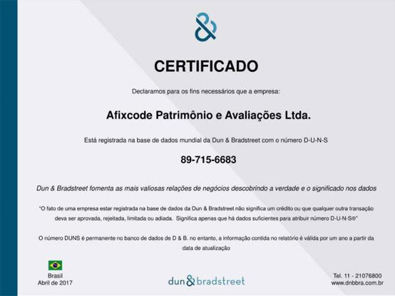 Certificado DNB