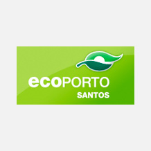 Logo Ecoporto Santos
