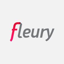 Logo Fleury Laboratórios