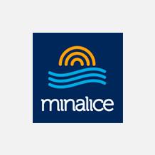 Logo Minalice Mineração