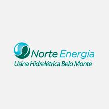 Logo Norte Energia