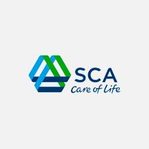 Logo SCA Brasil