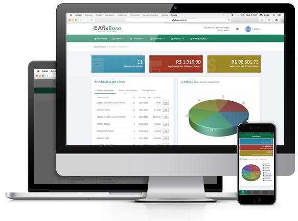 AfixBase - Sistema de Controle de Ativos