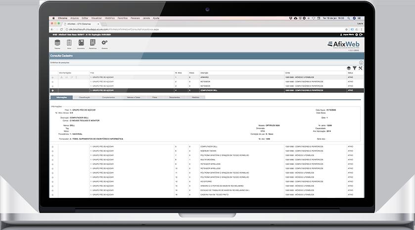 82a0437b7e08d Sistema de Controle Patrimonial - Afixpat (Web e Desktop)