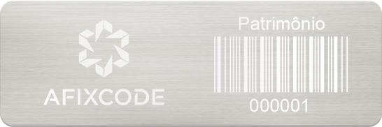 Etiquetas em Aço