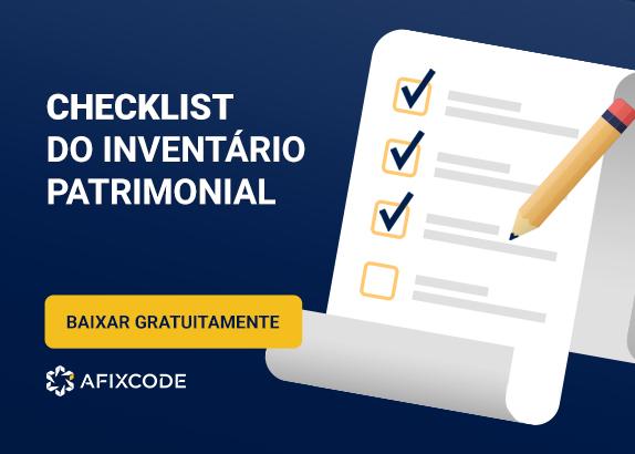 Checklist do Inventário Patrimonial
