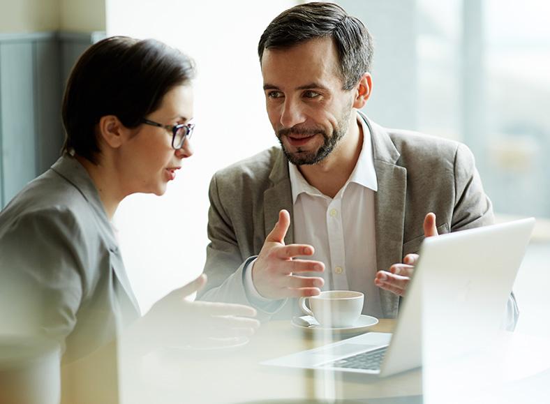 Conversando com Vendedor de Software de Patrimônio