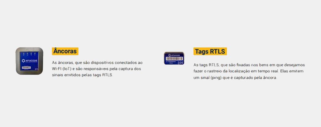 Tudo sobre RTLS: Ancoras e Tags